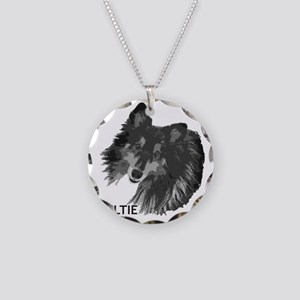 sissy best cf Necklace Circle Charm