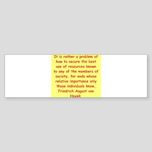 heyek11 Bumper Sticker