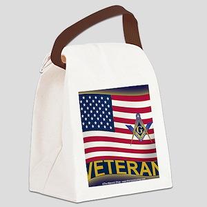 VET LICENSE Canvas Lunch Bag