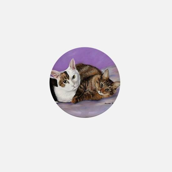 karencats11x11pillow Mini Button