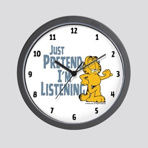 Just Pretend Wall Clock
