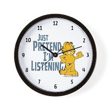 Just Pretend Wall Clock