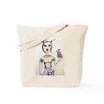 Deer Girl Tote Bag