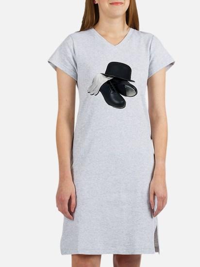 TapShoesBowlerGloves012511 Women's Nightshirt