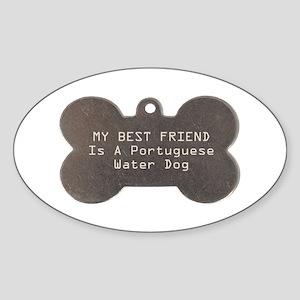 Friend Portie Oval Sticker