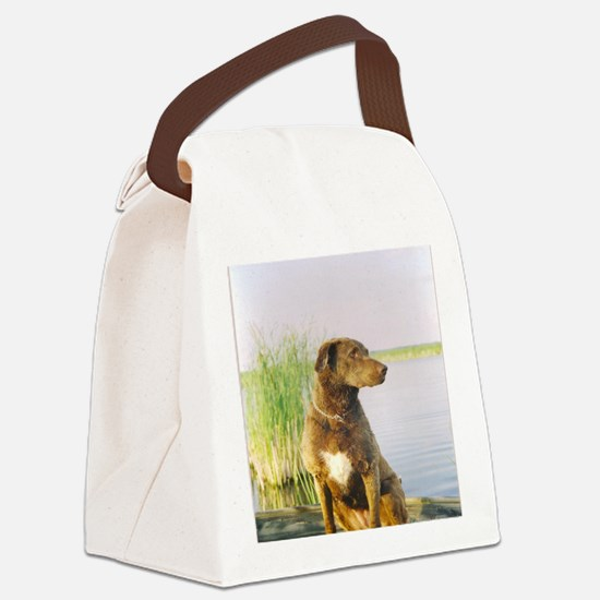 Summer front Canvas Lunch Bag