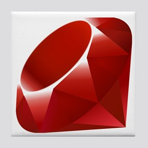 ruby Tile Coaster