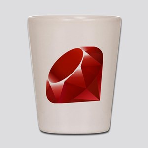 ruby Shot Glass