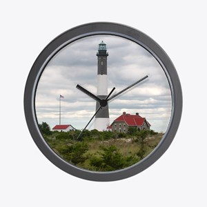 ROBERT_MOSES_STATE_PARK_LIGHTHOUSE_NY Wall Clock