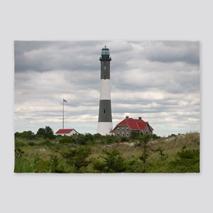 ROBERT_MOSES_STATE_PARK_LIGHTHOUSE_ 5'x7'Area Rug