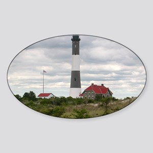 ROBERT_MOSES_STATE_PARK_LIGHTHOUSE_ Sticker (Oval)