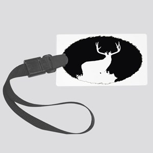 Monster buck Large Luggage Tag