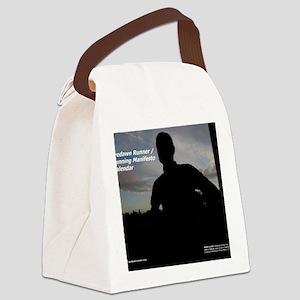 Predawn Runner Calendar - Cover Canvas Lunch Bag