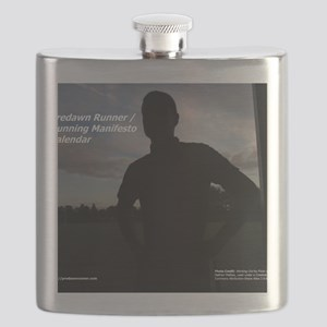 Predawn Runner Calendar - Cover Flask