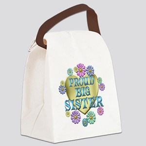 PROUDBIGSISTER Canvas Lunch Bag