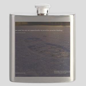 Predawn Runner Calendar - January Flask