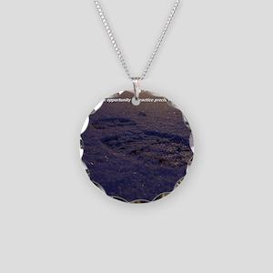 Predawn Runner Calendar - Ja Necklace Circle Charm