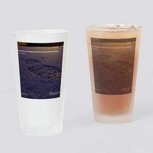 Predawn Runner Calendar - January Drinking Glass