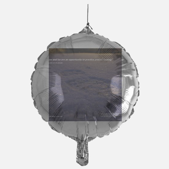 Predawn Runner Calendar - January Balloon