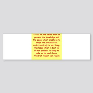 heyek5 Bumper Sticker