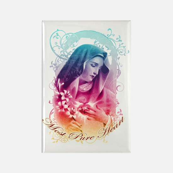 Most Pure Heart of Mary (vertical Rectangle Magnet