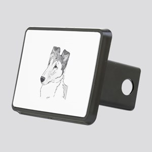 Smooth Collie sable Hitch Cover