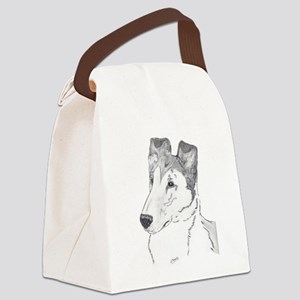 Smooth Collie sable Canvas Lunch Bag