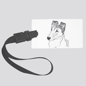 Smooth Collie sable Luggage Tag
