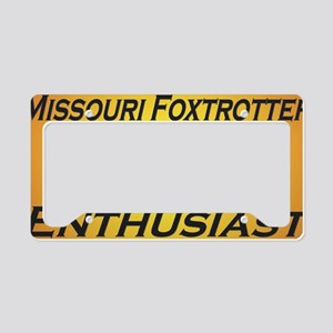 FTEnthusYellow License Plate Holder