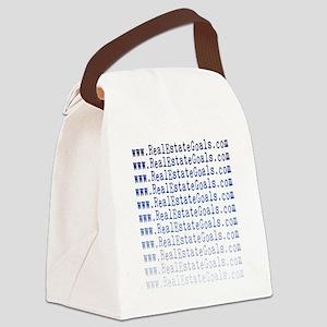 realestategoals Canvas Lunch Bag