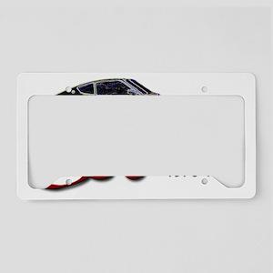 S30-splashRED License Plate Holder