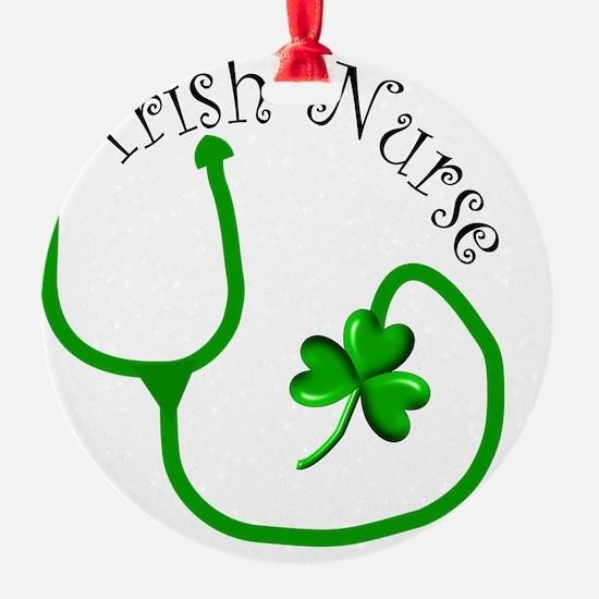 Irish Nurse 1 Ornament