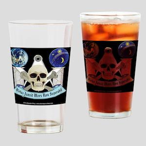 Virtus license copy Drinking Glass