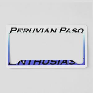 PPBlueFadeFade License Plate Holder