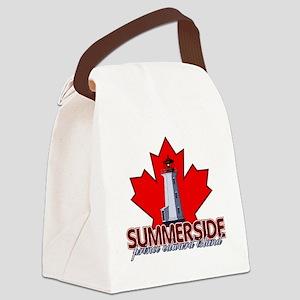 Summerside Lighthouse Canvas Lunch Bag