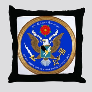 ASA_Seal_Tshirt Throw Pillow