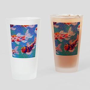 Koi Light Drinking Glass