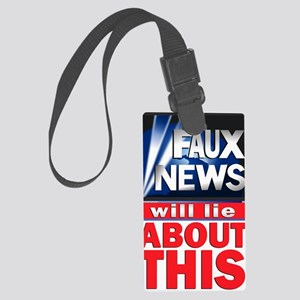 faux-news Large Luggage Tag