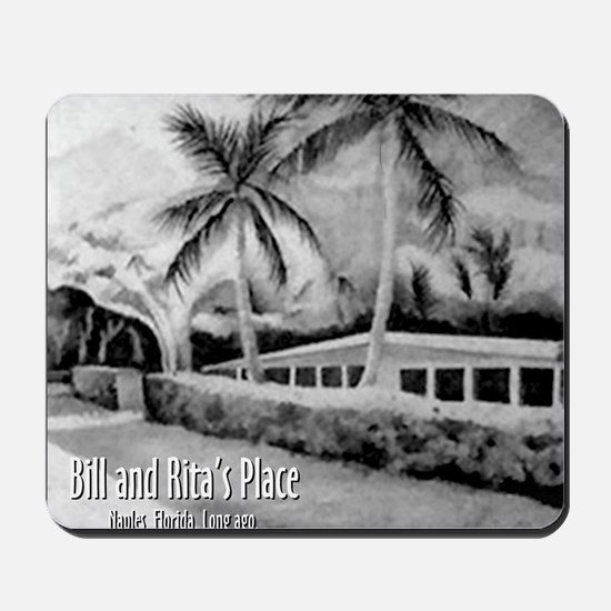 Bill n Ritas Place After the Storm Mousepad