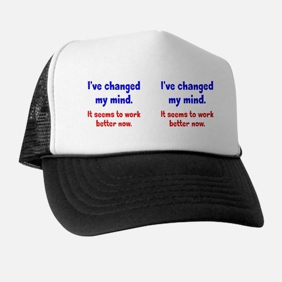 changed-mind_mug1 Trucker Hat