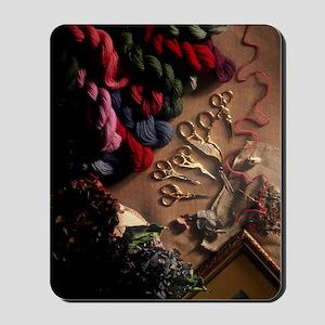 YarnShears01 Mousepad