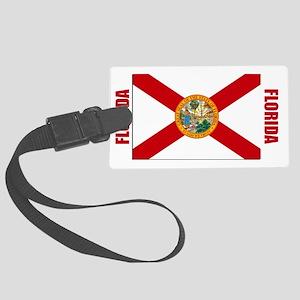 LP-florida-flag Large Luggage Tag
