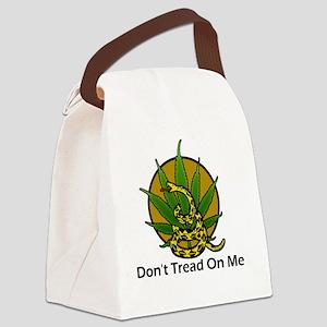 Dont-Tread-On-Me-Marijuana Canvas Lunch Bag