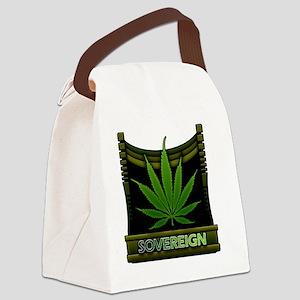 Sovereign-marijuana Canvas Lunch Bag