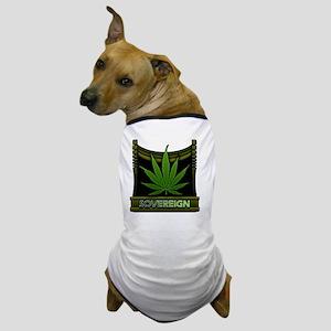 Sovereign-marijuana Dog T-Shirt