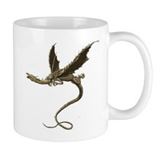 Wood Dragon Mugs