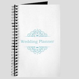 Wedding Planner in blue Journal