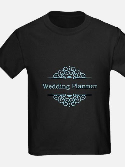 Wedding Planner in blue T-Shirt