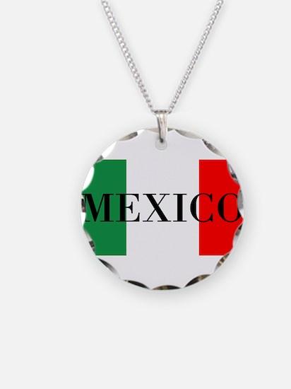 Mexico Flag Colors Necklace