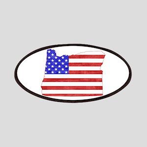 Oregon Flag Patches